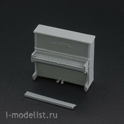 AVD143007801 AVD Models 1/43 Пианино Кузбасс, 1 шт.