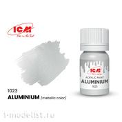 C1023 ICM Краска для творчества, 12 мл, цвет Алюминий (Aluminium)