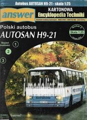 A15 Answer 1/25 Polish bus AUTOSAN H9-21