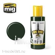 AMIG2028 Ammo Mig ONE SHOT PRIMER - GREEN (Самовыравнивающийся грунтовочный раствор зеленого цвета)