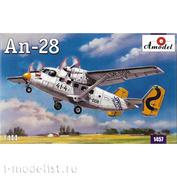 1457 Amodel 1/144 Самолет Антонов Ан-28