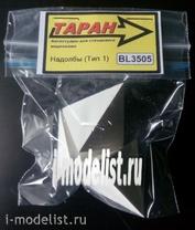 BL3505 RAM 1/35 dragon's teeth, concrete (flat tetrahedron)
