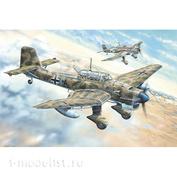 02423 Я-Моделист Клей жидкий плюс подарок Trumpeter 1/24 Junkers Ju-87R Stuka 02423