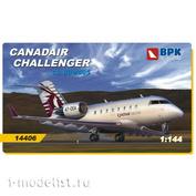 BPK14406 BPK 1/144 Самолет Challenger CL604/CL605