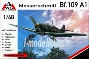 48711 AMG Models 1/48 Самолет Messerschmitt Bf.109 A-1