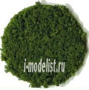 3389 Heki Материалы для диорам Модельный флок. Лиственный покров темно-зеленый, крупный 200 мл