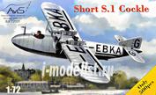 72031 Avis 1/72 Самолет Short S.1 Cockle