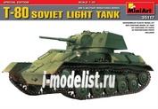 35117 MiniArt 1/35 T-80 Советский легкий танк, специальная серия