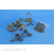 MDR4831 Metallic Details 1/48 Прицеп армии США времен Второй мировой войны