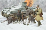 6744 Dragon 1/35 Солдаты Models Soviet Infantry Winder 1941 (4 fig)