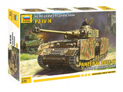 5017 Звезда 1/72 Немецкий средний танк Т-IV H