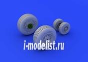 672078 Eduard 1/72 F-4J wheels