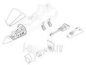 7085 CMK 1/72 Набор дополнений L-39 C/ZA - armament set for EDU