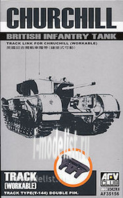 AF35156 AFVClub 1/35 Track set for Churchill Mk.III T-144 double pin tracks