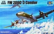 01637 Trumpeter 1/72 Самолет Focke-Wulf Fw 200C-3 Condor
