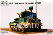 56011 Vulcan 1/35 British Light Tank Mark VI B North Africa