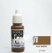 70983 acrylic Paint `Model Color Dark earth/Flat earth