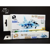 7302-2 Pacific88 the Set of colors for AERO Yak-130 + mask KAV models (for a set of Zvezda)