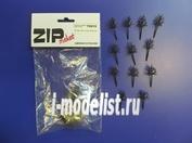 70015 ZIPMaket Каркас дерева овальный 30 мм (30 штук) пластик
