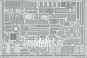 53176 Eduard 1/144 Фототравление HMCS Snowberry часть 2, основная надстройка