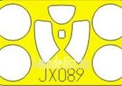 JX089 Eduard 1/32 Маска для I-16