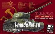 AF35S55 AFVClub 1/35 T-34/85 1944 Factory 183