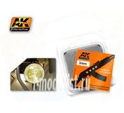 AK-214 AK Interactive Линзы прозрачные желтые AMBER 3mm