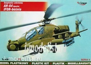 72052 Mirage Hobby 1/72 Вертолет AH-64A Apache IFOR-Bosnia multi-mission combat helicopter