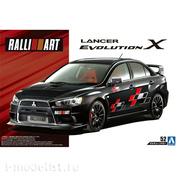 05987 Aoshima 1/24 Assembly model Mitsubishi Lancer Evolution X RalliArt 07