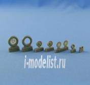 NS48019 North Star 1/48 Bf.109 E-1-E-3 wheels set (