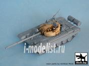 T72007 Black dog 1/72 T72 M1 CZ for Revell 03149, 1 resin part