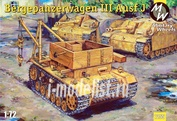 7255 Military Wheels 1/72 Bergepanzerwagen T-III