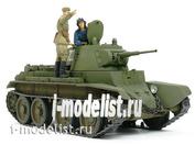 35327 Tamiya 1/35 Tank BT-7 (issue 1937), 2 figures, photo etching.