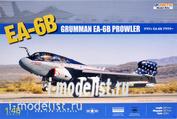 K48022 Kinetic 1/48 American carrier-based reconnaissance aircraft Grumman EA-6B Prowler
