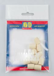 AVD143009110 AVD Models 1/43 Бочка деревянная 100л, 10 шт.