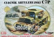 35901 Mirage Hobby 1/35 C7P Heavy Artilery Tractor