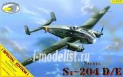 RVA72003E R.V.AIRCRAFT 1/72 Самолет Siebel Si-204D/E + set for night version