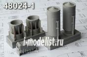 AMC48024-1 Advanced Modeling 1/48 РБК-500-255 ПТАБ-10-5 разовая бомбовая кассета с ящиком для пороховых зарядов