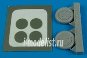 7244 Aires 1/72 Набор дополнений SBD Dauntless wheel & paint masks