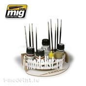 AMIG8002 Ammo Mig Подставка под краски и инструмент