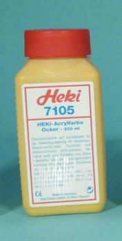 7105 Heki Acrylic dye. Ochre 200 ml