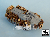 T72005 Black dog 1/72 AAVP7A1 RAM/RS EAAK for Dragon 07233, 10 resin parts