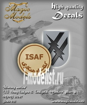 MM35047 Magic Models 1/35 Декаль US Army Badges & Insignia. Modern. Part 4