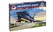 2740 Italeri 1/48 САМОЛЕТ FIAT G.91 P.A.N. (Aerobatic team)