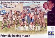 35150 MasterBox 1/35 Дружественный матч по боксу