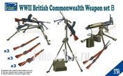 RE30010 Riich 1/35 WWII British Commonwealth Weapon Set B – 1