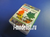 35016 DasModel 1/35 Листья дуба осенние 100 шт