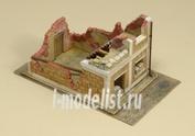 6161 Italeri 1/72 Разрушенный дом (Wrecked House)