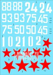 48009 ColibriDecals 1/48 Декаль для И-153 71 ГвИАП