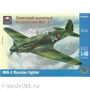 48012 ARK-models 1/48 Советский высотный истребитель МuГ-3